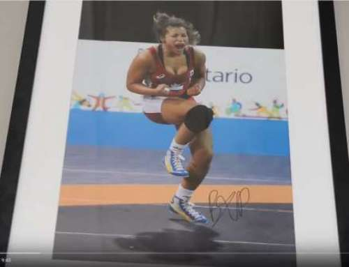 Athlete's Journey with Gold Medalist Wrestler, Braxton Stone
